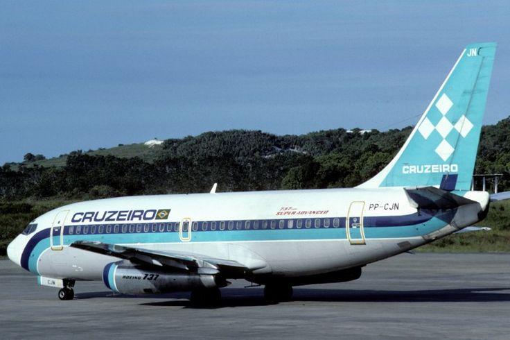 Mesmo depois de comprada pela Varig, a Cruzeiro seguiu voando com suas cores por quase duas décadas (Aero Icarus)