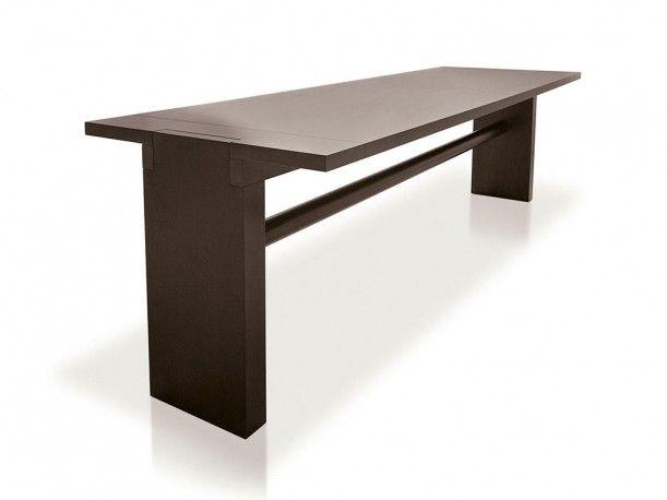 VALMARANA solid reliable table designed by Carlo Scarpa for CASSINA-SIMON COLLEZIONE.    http://santiccioli.com/en/collections/?filter=product&name=valmarana