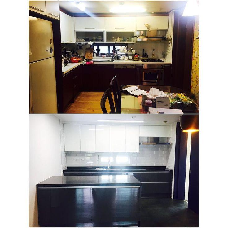 Kitchen Design Uv: #enex#에넥스#주방##브랜드주방#부엌#주방가구#uv도장#도장#씽크대#주방디자인#가구디자인#인테리어
