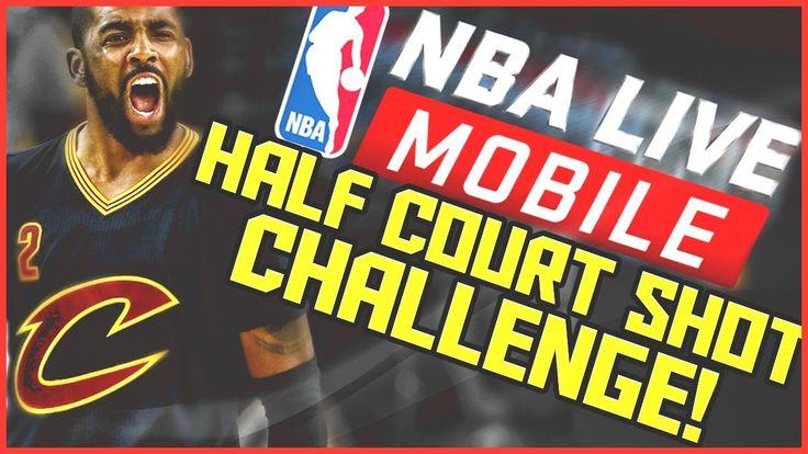 NBA Live Mobile 17 Half Court Shot Challenge