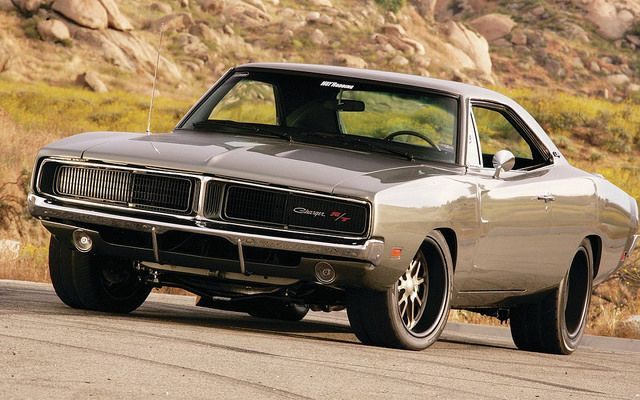 1969 Dodge Charger R/T. Awesome American Muscle!