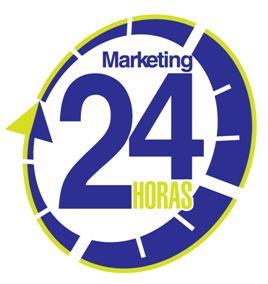 Nuestro Logo. Cada vez que lo veas significa que podemos solucionar un problema de Marketing en 24 Horas (o al menos iniciar con la estructura de la solución.
