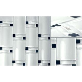 Martini Mosaic Bellagio White Blocco Wave Set Of 5 Sheets