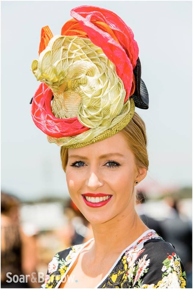 Highlights from Oaks day 2014! Dress by Kelly & Port / Hat by Embellish Atelier. wwww.embellish-hats.com #hats #racing #fashion