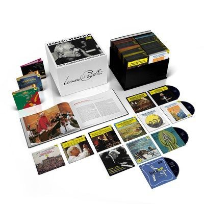 Leonard Bernstein Centenary: The Maestros Complete Works As Composer To Be Available For The First Time  On Deustche Grammophon/UMe              LOS ANGELES March 8 2018 /PRNewswire/ Deutsche Grammophon/UMe marks the Leonard Bernstein centenary (born August 25 1918) in suitably monumental style. For the first time Bernsteins complete works will beavailable on CD in a single boxed set as will his legacy as a conductor. In addition there will be a series of spectacular new releases and…