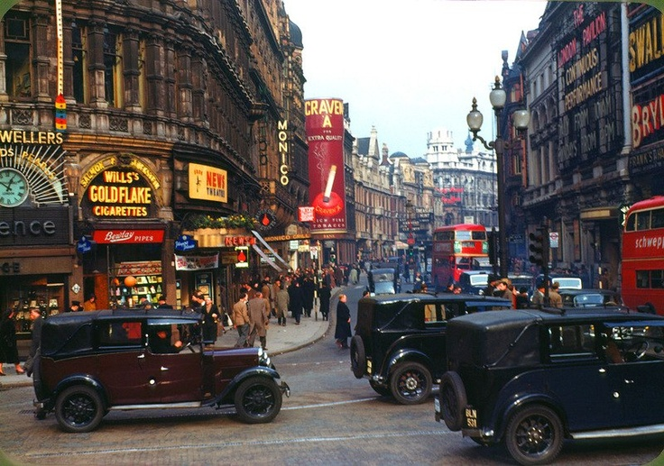 London, the 1940s