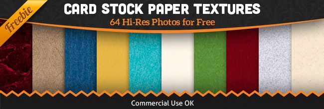 Free Paper Texture Pack: 64 High Resolution Cardstock Photos