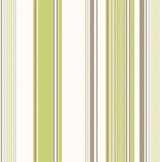 Amelia Green Stripe Wallpaper