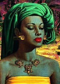 Balinese Girl by Vladimir Tretchikoff