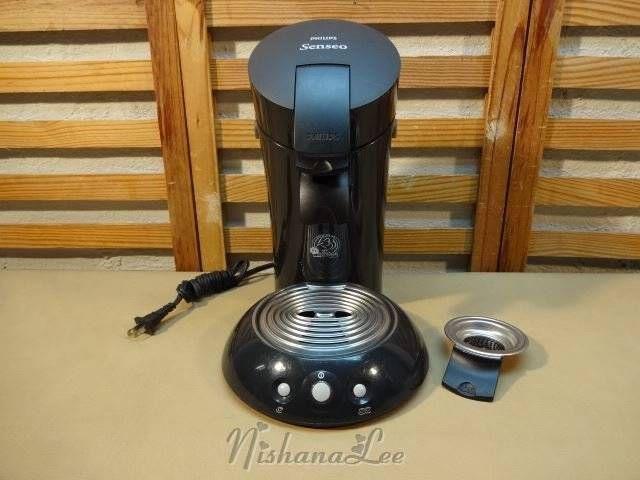 Black Phillips Senseo Coffee Maker Model HD 7810