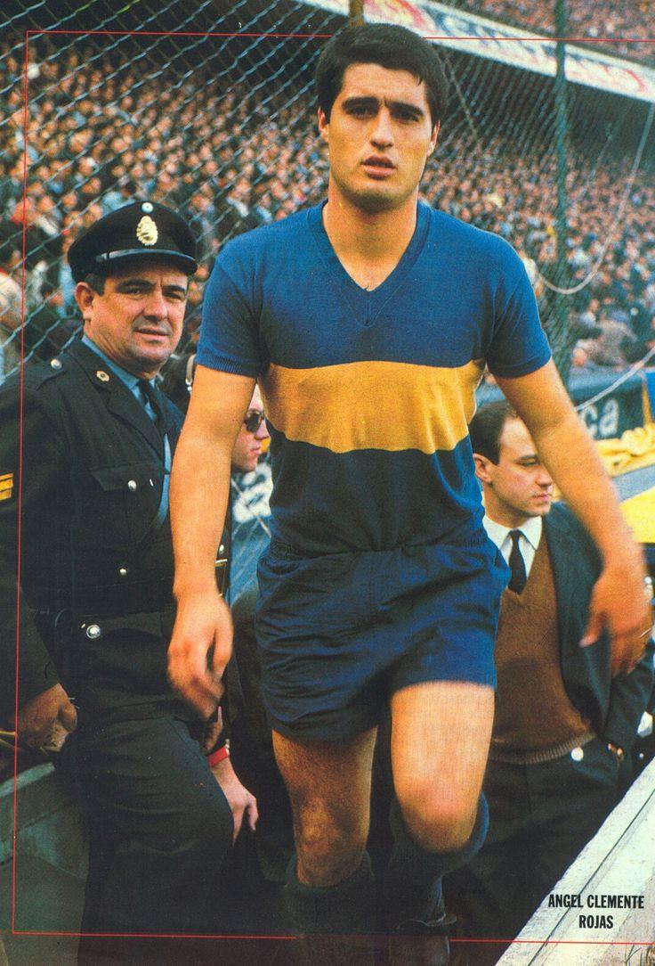 Boca Juniors - Rojitas. El Ídolo de todos los Tiempos. Ángel Clemente Rojas.