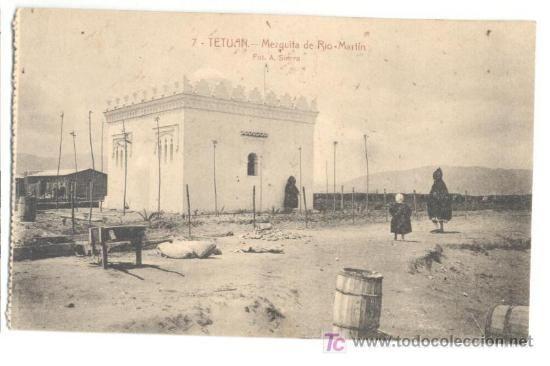 Tetuán (Marruecos), Mezquita de Río Martín, foto A. Sierra, 6 €
