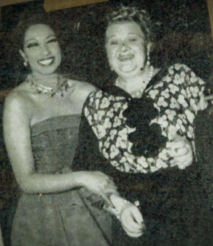 Josephine Baker and Sophie Tucker, 1951