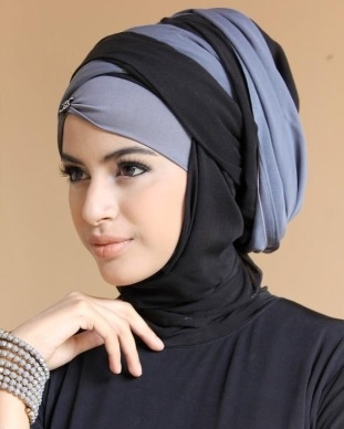 Hijab style for a wedding/party | CostMad do not sell this idea/product but please visit our blog for more funky ideas