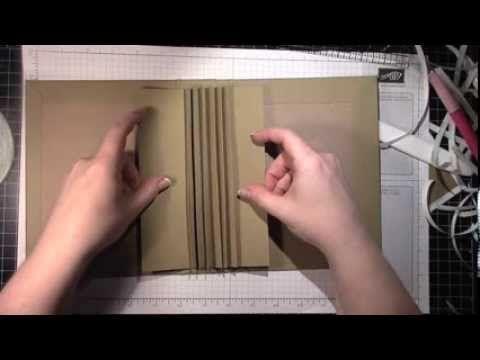 Make a mini with me! Video 3: Album construction (+afspeellijst)