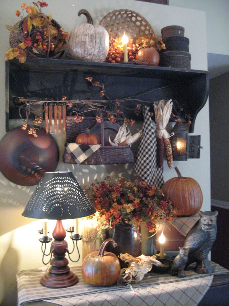...: Country Fall, Decor Ideas, Country Primitive, Autumn Fall, Decorating Ideas, Primitives, Halloween