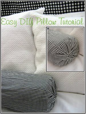 I Don't Sew This Is A Great Idea For Some No Sew Pillows And A Simple How To Make Pillows Without A Sewing Machine