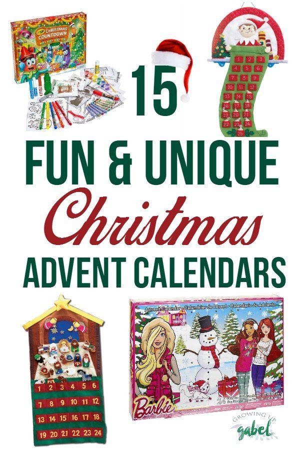 fun and unique christmas advent calendars for kids elf. Black Bedroom Furniture Sets. Home Design Ideas