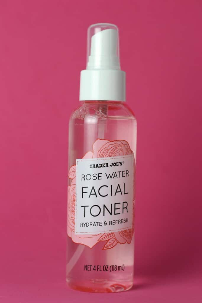 Trader Joe S Rose Water Facial Toner Review Facial Toner Rose