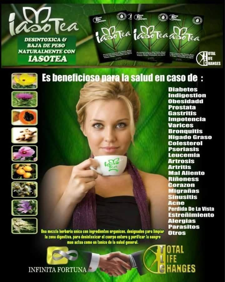 IasoTea el te #1 desintoxicante natural, desintoxica el sistema digestivo, desparasita,  limpia colón, contactanos https://totallifechanges.com/pueblaiaso y FanPage https://www.facebook.com/iasoPuebla/