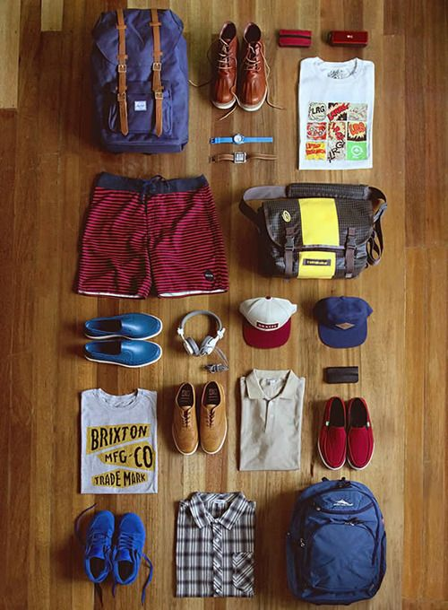 Gentlemens Essentials For A Camping Trip Or Summer Vacation Maybe To The Beach House