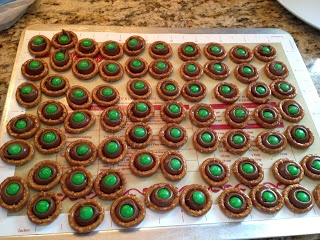 Grinch Day Treat--Grinch Eyes from Buggy for Second Grade