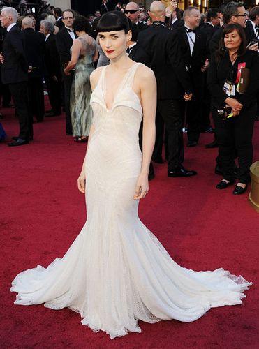 Rooney Mara in Givenchy #Oscars