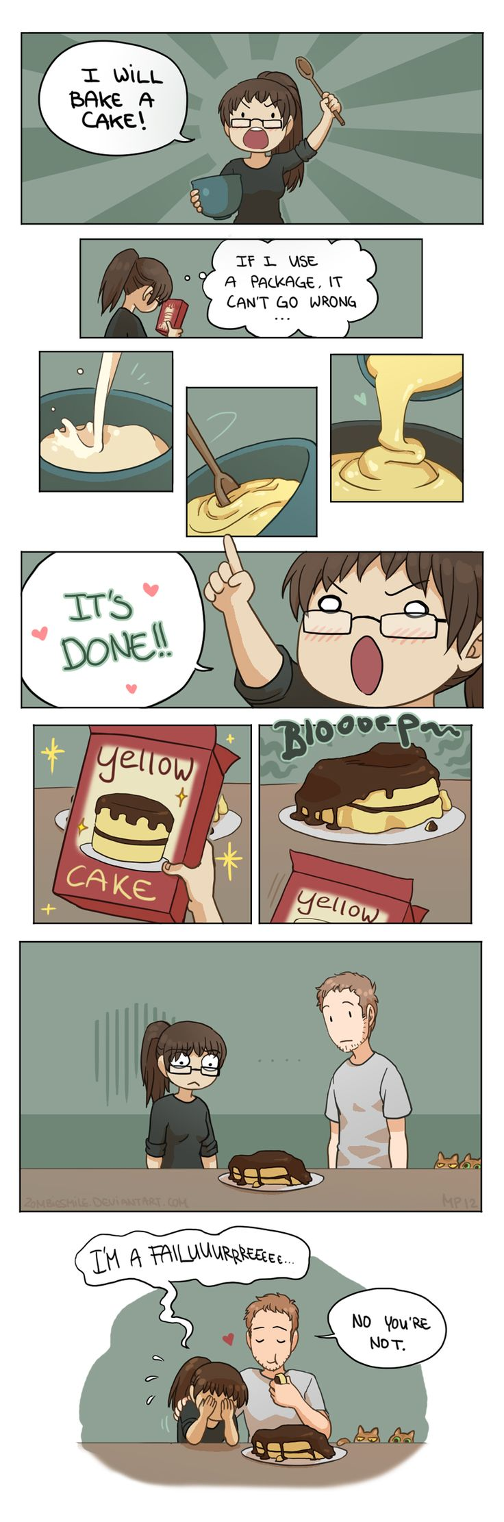 Cake! by Zombiesmile.deviantart.com