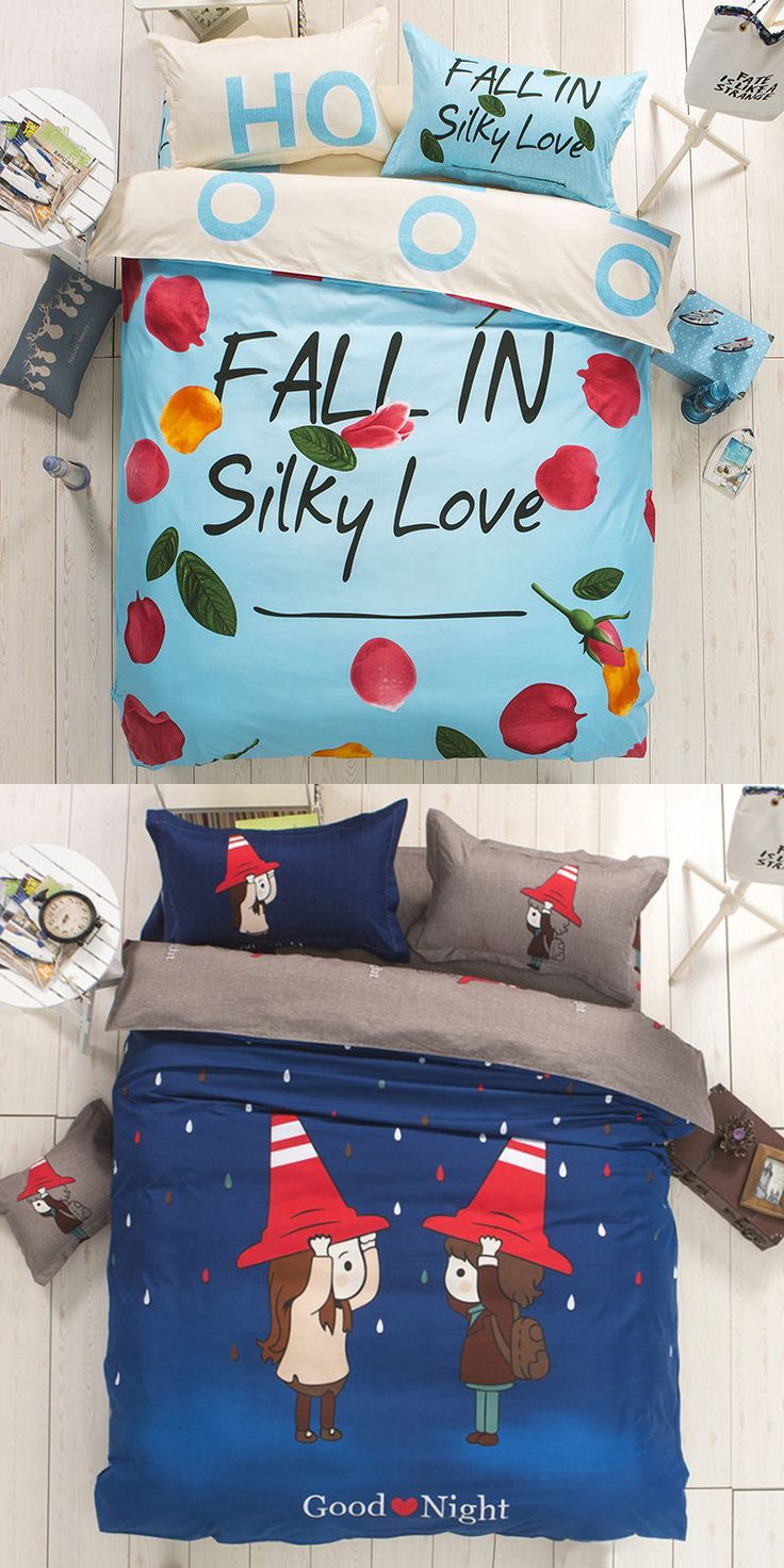 Colorful set of bedding for you and him. A great gift to your frendes. Many different patterns. Price $65.00 #Home #Beautiful