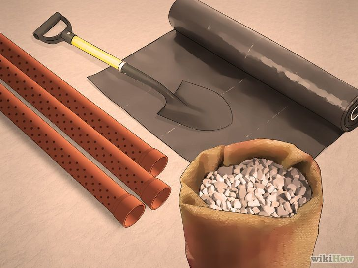 how to build a french drain yourself