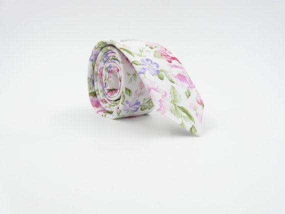Wedding Tie Floral Ties Groom Outfit Groomsmen by accessories482