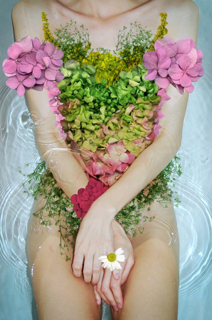 Flower suit