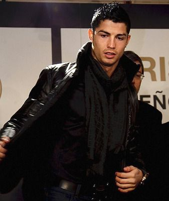Cristiano Ronaldo----You know you've made it big in your profession when you're known by only one name. From Madonna to Cher to Rinaldo, this is one stylish and successful dude.