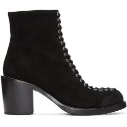 sale Mcq Alexander Mcqueen Black Laced Clapton Boots