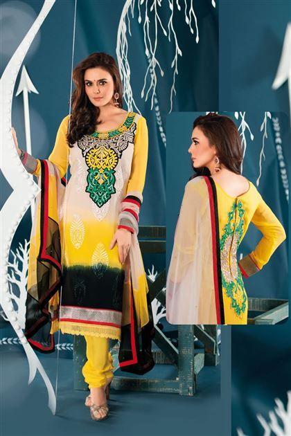 http://www.jomso.com/Shop/Jom_Zinta_9005/Jom_Zinta_9005  Wear an attitude like priti zinta by wearing this designer salwar suit.
