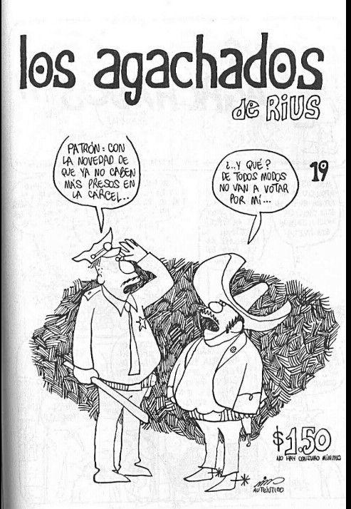 Revista No.19 Los Agachados. Google.