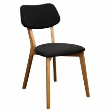 Jelly Bean Dining Chair Charcoal
