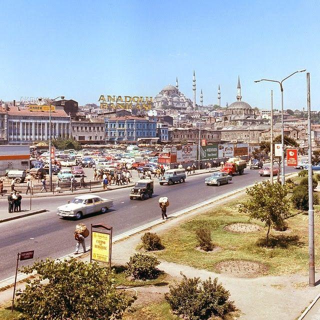 Özlenen İstanbul'dan Tam 45 Yıl Önce Çekilmiş Arşivlik Fotoğraf Kareleri