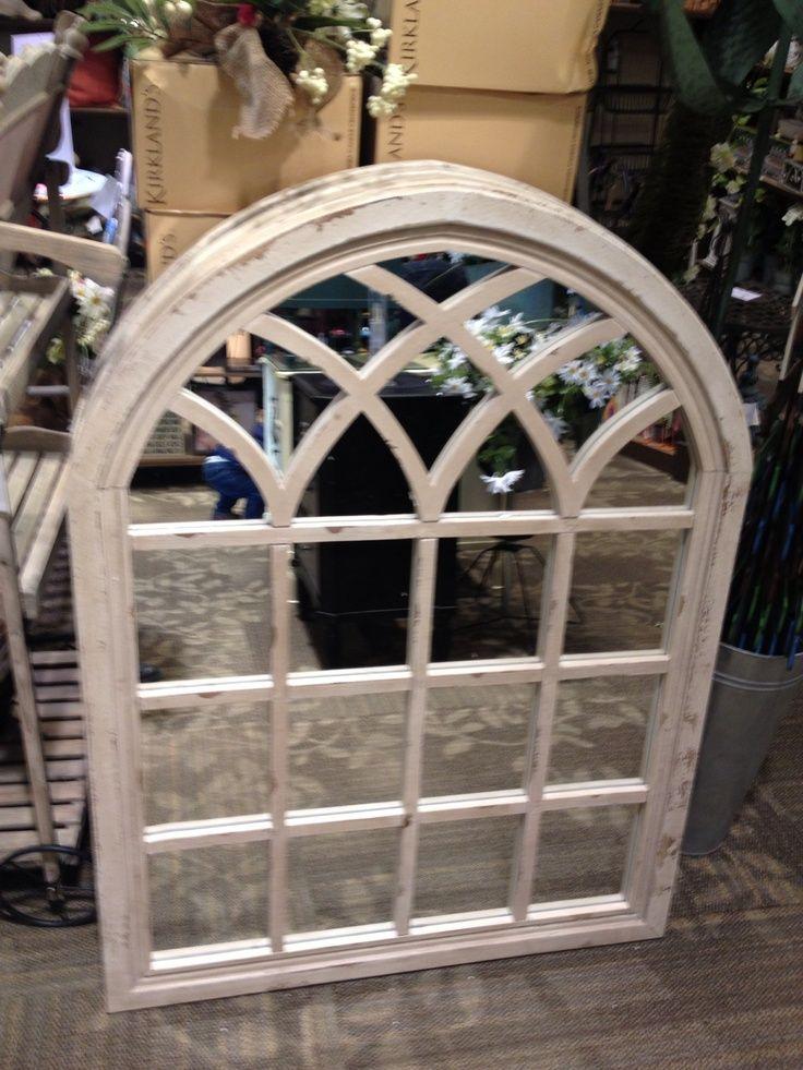 kirklands distressed cream sadie arch mirror - Google ...