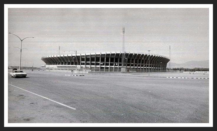 İzmir Atatürk Stadı. 1970'ler.
