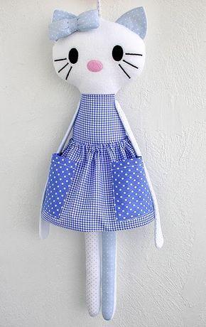 Made by Irinelli: Органайзер для заколочек и резинок Китти