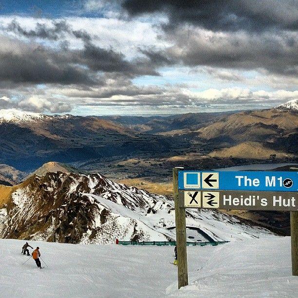 View from top of Coronet Peak ski field #Queenstown #NewZealand #Aotearoa #NZ