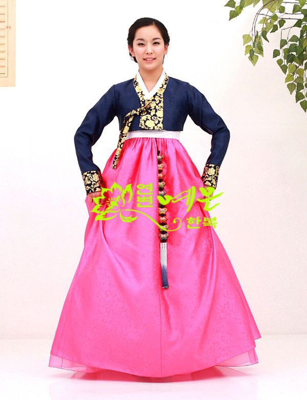 Women Hanbok Dress Custom Made Korean Traditional Hanbok High Waist Hanbok #hanbok