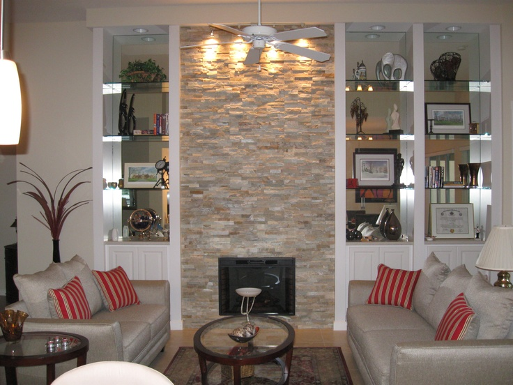 Interior Fireplace Feature Stone Veneers Designer Projects Stone Face