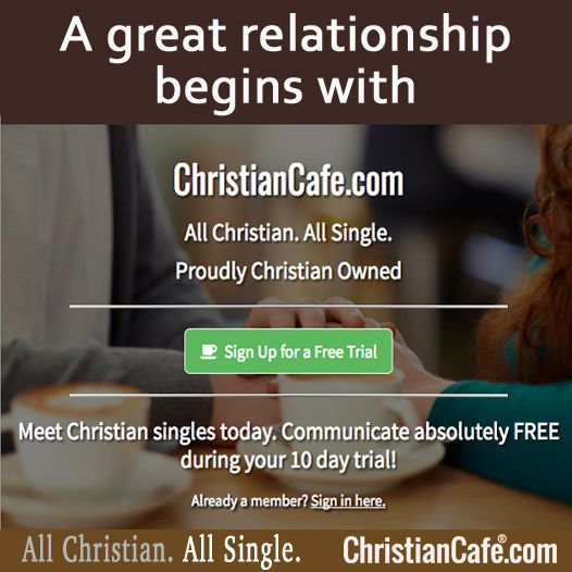 A great relationship begins with ChristianCafe.com All Christian.  All Single. Meet Christian singles today.