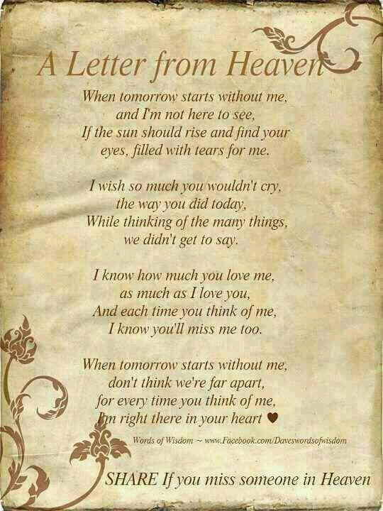 I miss you Ben, every single second! Love you!