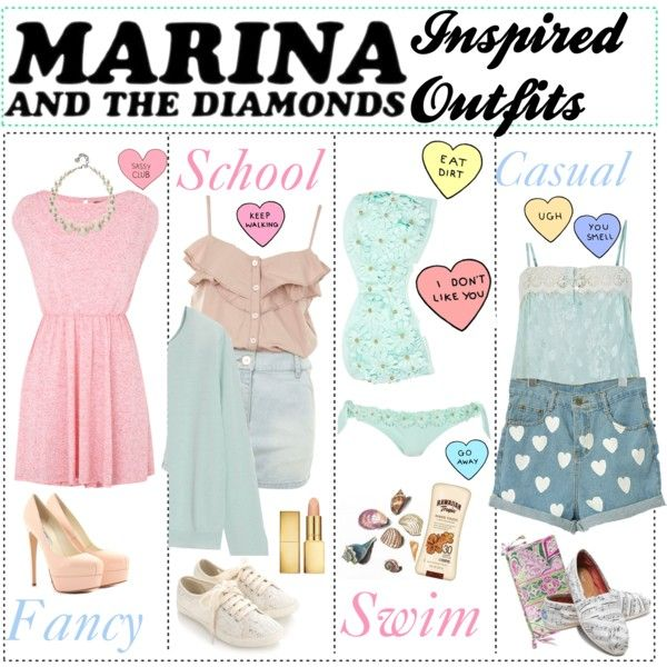 Pictures of Marina And The Diamonds Inspired Outfit - #rock-cafe