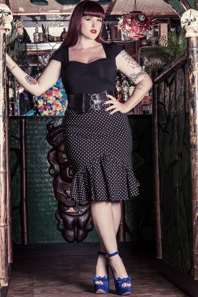 Among the ladies gothic fashion, a major part is plus size gothic clothing that is also getting accepted at a great pace by plus size women.