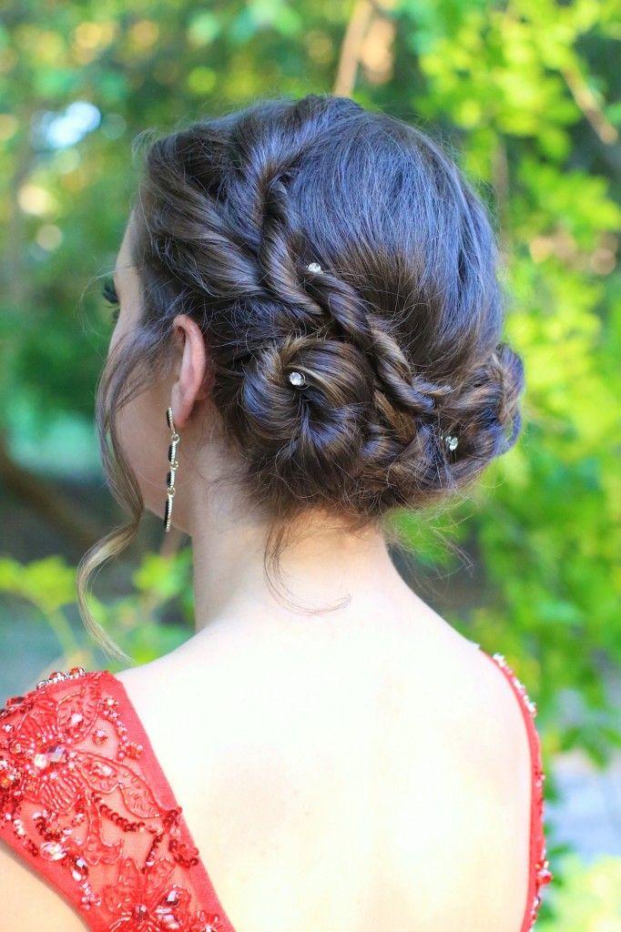 Rope Twist Updo   Cute Girls Hairstyles