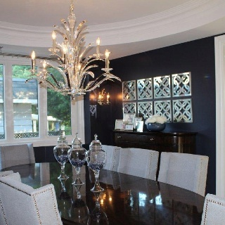 Navy white dining room remodeling pinterest for Navy dining room ideas